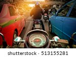 behind the wheel of the... | Shutterstock . vector #513155281