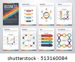 infographic vector set.... | Shutterstock .eps vector #513160084