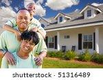 attractive african american... | Shutterstock . vector #51316489