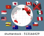 collapse of tpp trans pacific... | Shutterstock .eps vector #513166429