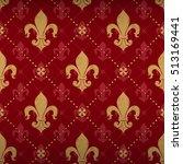 expensive kingly seamless... | Shutterstock .eps vector #513169441