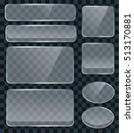 vector transparent glass design ... | Shutterstock .eps vector #513170881