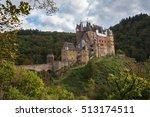 medieval castle eltz in a... | Shutterstock . vector #513174511