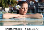 young beautiful woman with...   Shutterstock . vector #51318877