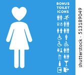 mistress icon and bonus man and ...   Shutterstock .eps vector #513189049
