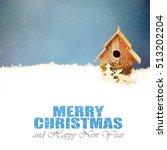 christmas decoration  family...   Shutterstock . vector #513202204