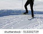 go cross country skiing in... | Shutterstock . vector #513202729