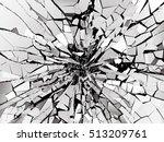 Shattered Or Demolished Glass...