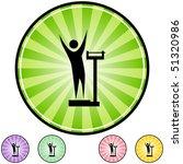 weight loss | Shutterstock .eps vector #51320986