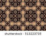 seamless floral beautiful batik ...   Shutterstock . vector #513223735