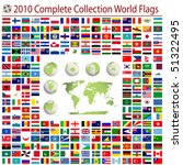 world flags and editable world... | Shutterstock .eps vector #51322495