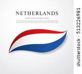 flag of netherlands | Shutterstock .eps vector #513226981