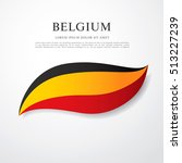 flag of belgium | Shutterstock .eps vector #513227239