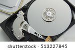 hdd harddisk file save record... | Shutterstock . vector #513227845