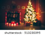 defocused background christmas... | Shutterstock . vector #513230395