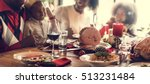 family together christmas... | Shutterstock . vector #513231484