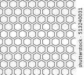 Black Hexagons Seamless On...