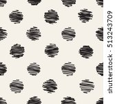 vector seamless pattern. casual ... | Shutterstock .eps vector #513243709