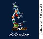 education concept sign....   Shutterstock .eps vector #513257521