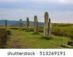 standing stones  ring of... | Shutterstock . vector #513269191