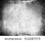 black and white grunge... | Shutterstock . vector #513287575