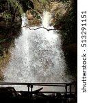 Small photo of Waterfall, detail in Chorros de Milla, Merida Venezuela.