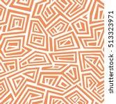 vector seamless pattern. modern ... | Shutterstock .eps vector #513323971