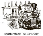 taxi | Shutterstock .eps vector #513340909
