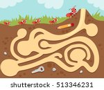 illustration featuring an... | Shutterstock .eps vector #513346231