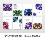 annual report brochure template ... | Shutterstock .eps vector #513350269