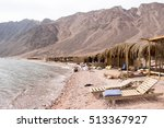 three pools diving site  dahab  ...   Shutterstock . vector #513367927