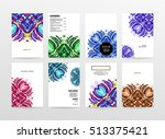 annual report brochure template ... | Shutterstock .eps vector #513375421