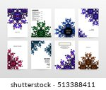 annual report brochure template ... | Shutterstock .eps vector #513388411