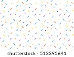 vector holiday pattern... | Shutterstock .eps vector #513395641