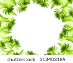 beautiful abstract fractal... | Shutterstock . vector #513403189