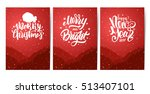 vector illustration of three... | Shutterstock .eps vector #513407101