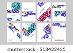annual report brochure template ... | Shutterstock .eps vector #513422425
