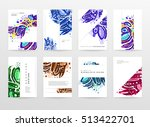 annual report brochure template ... | Shutterstock .eps vector #513422701