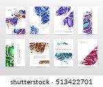 annual report brochure template ... | Shutterstock .eps vector #513422701