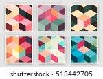 title sheet covers set.... | Shutterstock .eps vector #513442705