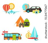vector simple universal travel... | Shutterstock .eps vector #513477067