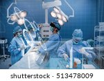 interface against surgeons... | Shutterstock . vector #513478009