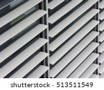 opened metallic window shutter... | Shutterstock . vector #513511549
