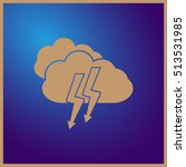 cloud icon vector. web design