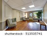 entrance room with hardwood... | Shutterstock . vector #513535741