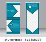roll up banner stand template.... | Shutterstock .eps vector #513565339