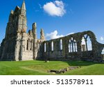 Remainings Of Whitby Abbey In...