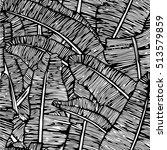 leafs pattern | Shutterstock .eps vector #513579859