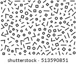 hipster fashion memphis style...   Shutterstock .eps vector #513590851