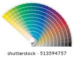 vector color palette book